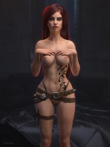 Katarina in 3D