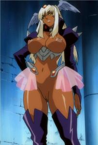 Nailkizer from Angel Blade. I wish they would've continued this series or developed her character more.