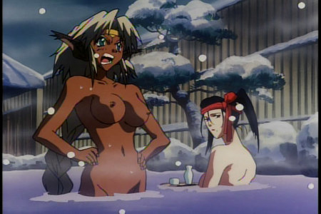 You call this a hot spring?!  (Outlaw Star)