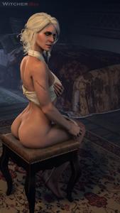 Ciri undressing
