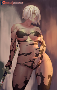 A2's torn outfit