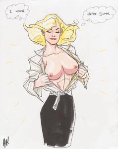 Supergirl's Super Tits