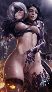 Hey if you like alita battle angel porn then I have the subreddit for you r/alitabattleangelporn