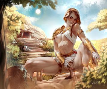 Kassandra's ride to Sparta