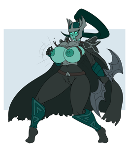 Mortred bursting out