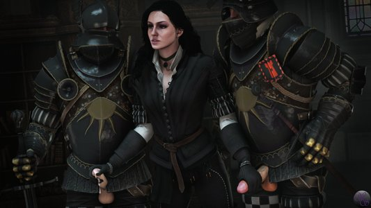 Yennefer during her time at Wyzima
