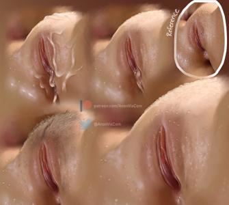 Closeup study
