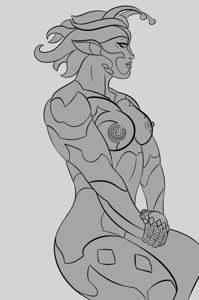 I'm in love with alien Zarya