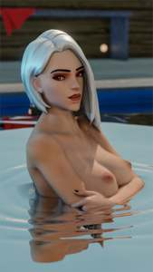 Ashe has a wet surprise for you