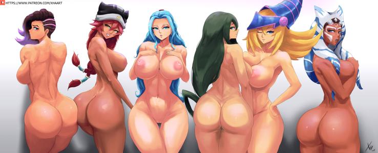 Sombra, Lupusregina Beta, Vivi, Tsuyu, Dark Magician Girl & Ahsoka Tano