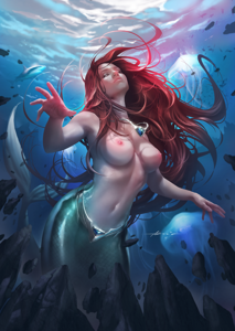 Ariel's beauty is unmatched in all the seas