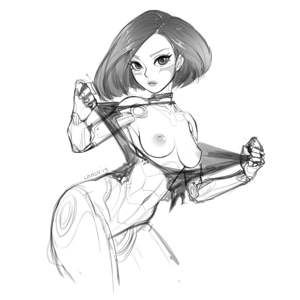 Alita show off her tits   found this on r/alitabattleangelporn