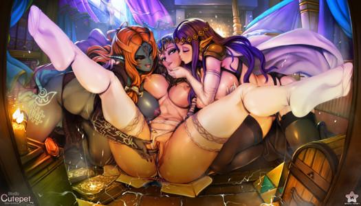 Zelda × Midna × Hilda