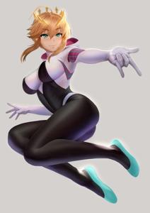 Artoria Pendragon Spider Gwen Cosplay