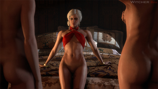 Rose and Edna serve their Empress Ciri with great devotion