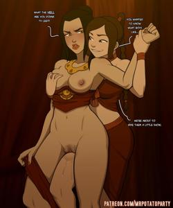 Ty Lee and Azula going at it