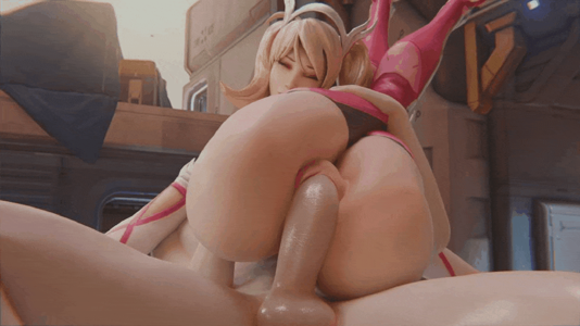 Mercy Wrapped Up And Fucked Silly
