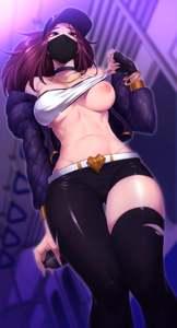 Akali is a little horny