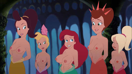 Edit-Thicc Ariel & Sisters