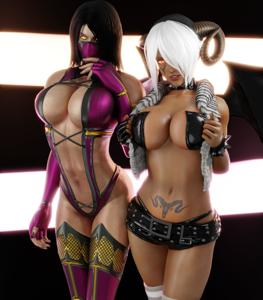 Mileena & Angel,