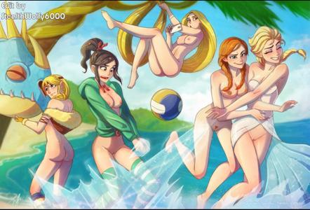 Elsa,Anna, Rapunzel,Vanellope,Astrid