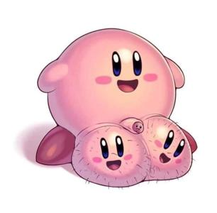 Kirby must have sucked a big ole dick. Artist unknown.