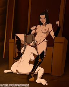 Ty Lee Following the Commands of Azula
