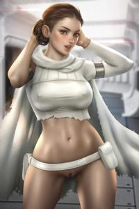 Padmé is showing off her tight wet pussy