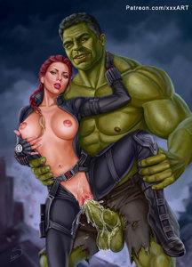 Black Widow goes Green