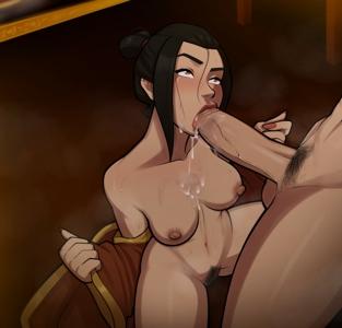 Azula is really enjoying that Blowjob!