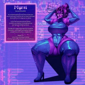 The Alien MILF, Myrsi