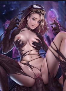 Gwen Stacy and venom