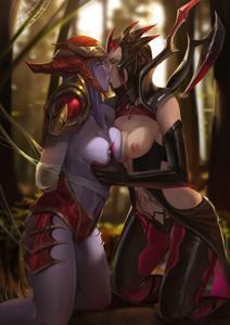 Elise & Shyvana