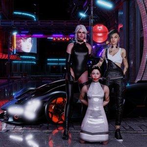 Judy, Ciri, Hanako