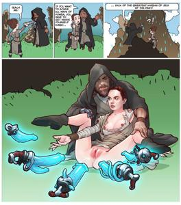Rey can handle this training