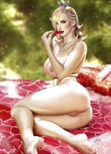 Rosalina has her picnic