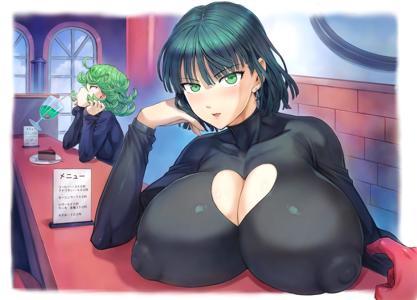 Tatsumaki's tig ol' bitties