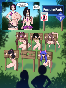 Futa mom takes her daughter to freeuse park part 1