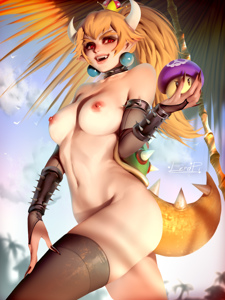 Bowsette's hot body