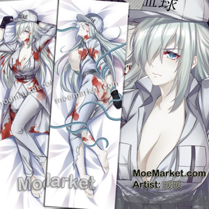 White Blood Cell U-1196 Body Pillow