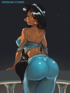 Thicc Princess Jasmine