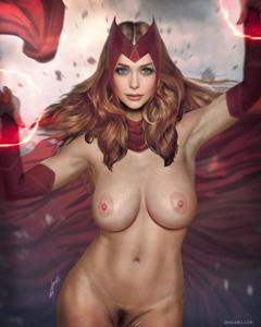 Scarlet Witch aka Wanda Maximoff