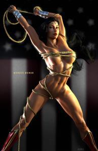Wonder Woman wants to battle