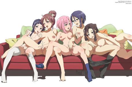 Koharu Yoshino, Kouzuki Sanae, Midorikawa Maki, Oribe Ririko, Shinomiya Shiori