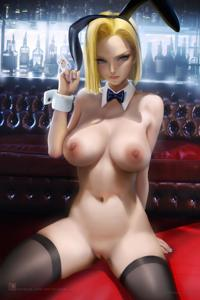 Android 18 plays a trick on you