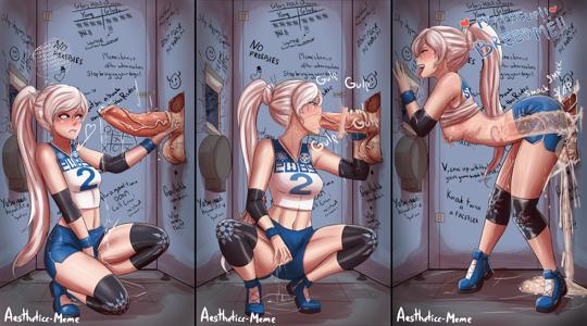 Weiss struggles with libido in the Glory Hole