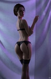 Jill Valentine in Lingerie