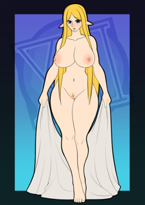 Zelda in her prime thiccness , Princess Zelda