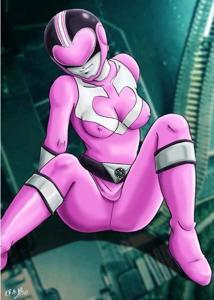 The Pink Power Ranger