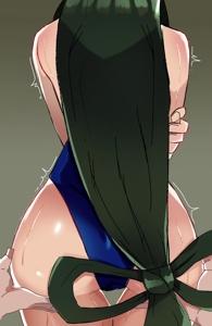 Tsuyu's ass
